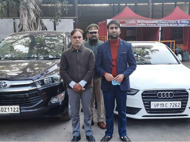 पुलिस ने गिरफ्तार दोनों जालसाजों को जेल भेज दिया है। - Dainik Bhaskar