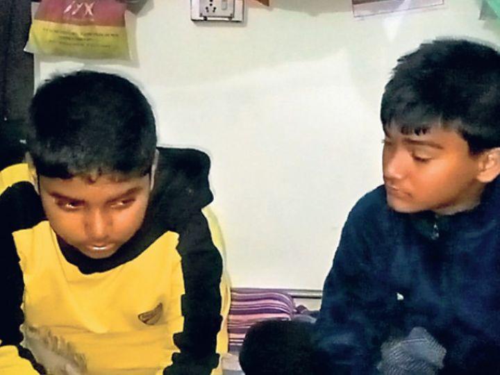 नेपाल के अपहृत बच्चे। - Dainik Bhaskar