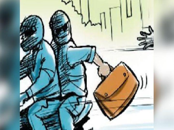 शोर शराब सुनकर पड़ोसी दौड़े आए, लेकिन तब तक हमलावर लूटपाट करके फरार हो चुके थे।- प्रतीकात्मक तस्वीर - Dainik Bhaskar