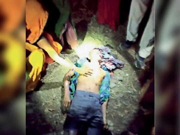 आलीराजपुर. समारोह में चलाई गोली लगने से व्यक्ति की मौके पर ही मौत हो गई। - Dainik Bhaskar