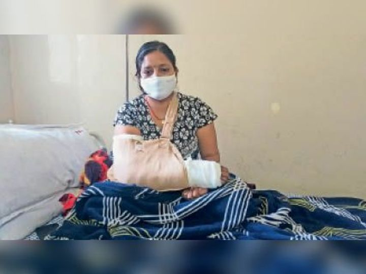 इलाज में 40 हजार रुपए से ज्यादा खर्च हो चुके - Dainik Bhaskar