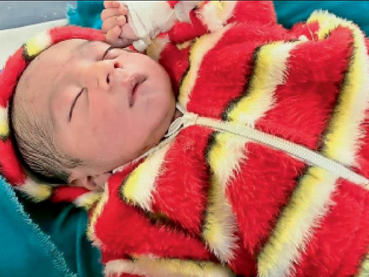 श्रीडूंगरगढ़ में जन्म के तुरंत बाद बच्चे को फेंका, पीबीएम में रैफर किया, अब तबीयत में सुधार। - Dainik Bhaskar