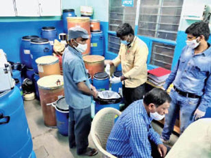 क्राइम ब्रांच ने व्यास की हैदराबाद स्थित कंपनी में जांच की - Dainik Bhaskar