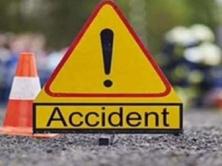 छत्तीसगढ़ के कांकेर में तड़के हुए सड़क हादसे में 3 लोगों की मौत हो गई, जबकि एक  गंभीर रूप से घायल है। - Dainik Bhaskar