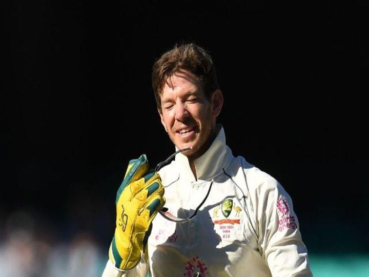 सिडनी टेस्ट में पांचवें दिन टिम पेन ने तीन कैच टपकाए थे। वहीं उन्होंने भारतीय बल्लेबाजों पर बल्लेबाजी के दौरान टिप्पणी भी की थी। (फाइल) - Dainik Bhaskar