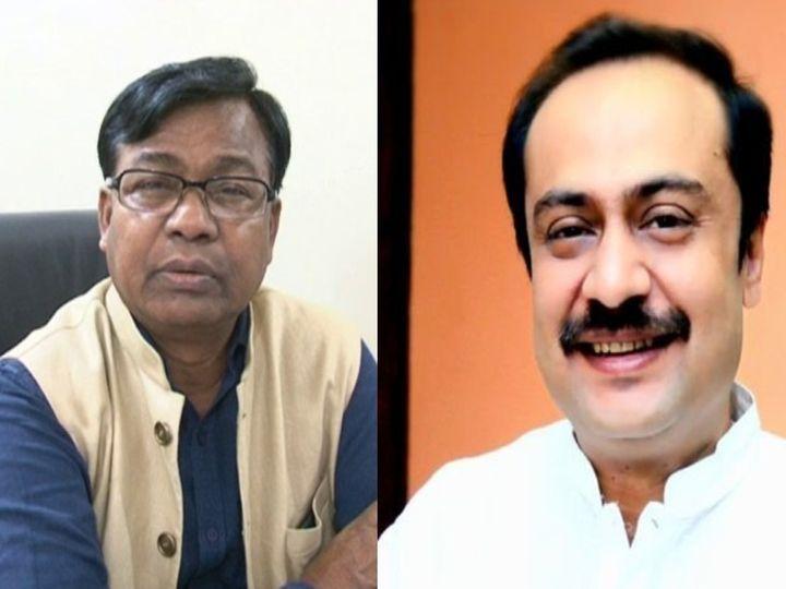 कांग्रेस के बिहार प्रभारी भक्त चरण दास ने रुपेश सिंह की हत्या को दुर्भाग्यपूर्ण बताया है, भाजपा नेता विवेक ठाकुर ने कहा कि यह बिहार पुलिस पर प्रश्नवाचक चिह्न है। - Dainik Bhaskar
