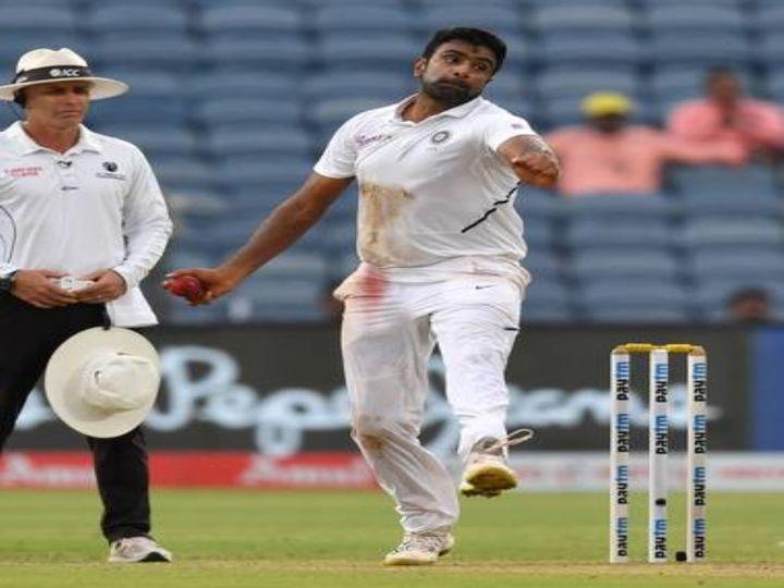 34 साल के अश्विन ने 74 टेस्ट में 25.54 की औसत से 377 विकेट लिए हैं।(फाइल फोटो) - Dainik Bhaskar