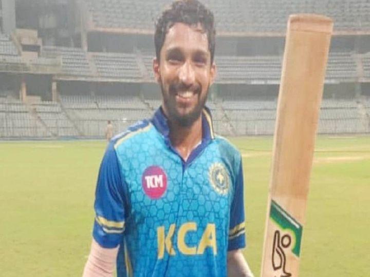 केरल टीम के ओपनर मोहम्मद अजहरुद्दीन 54 बॉल पर 137 रन बनाकर नाबाद रहे और मुंबई के खिलाफ टीम को जिताया। - Dainik Bhaskar