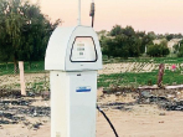 बाड़मेर. लीलसर के पास रसद विभाग ने सीज किया अवैध डीजल पंप। - Dainik Bhaskar