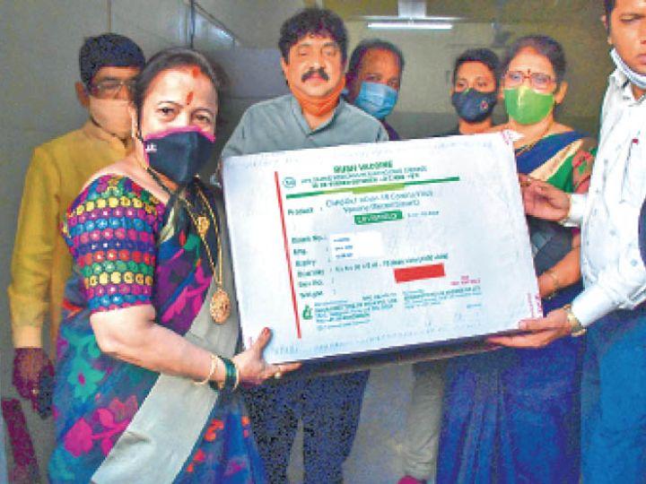 मुंबई में कोरोना वैक्सीन बुधवार को पहुंची। - Dainik Bhaskar