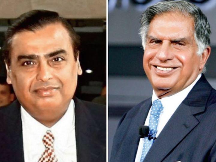 टाटा समूह का कुल मार्केट कैप रिलायंस समूह से करीब 36% ज्यादा है। - Money Bhaskar