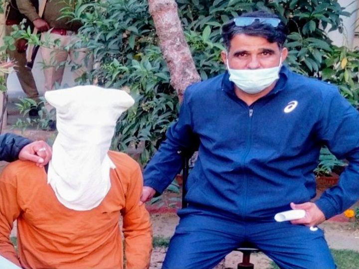 जयपुर में एक महीने पहले हुए पत्रकार अभिषेक सोनी हत्याकांड में फरार आरोपी कानाराम चौधरी को पुलिस ने गिरफ्तार कर लिया - Dainik Bhaskar
