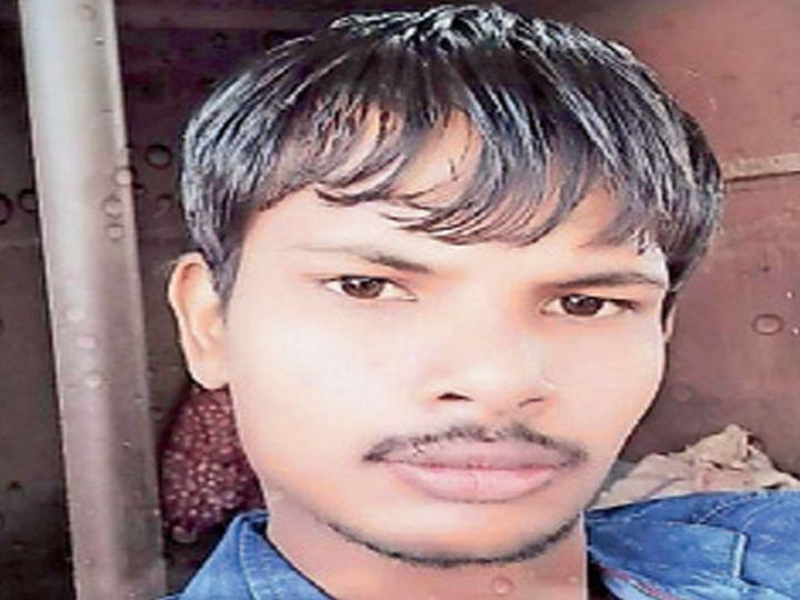 मृतक पीयूष ठक्कर (23) की फाइल फोटो - Dainik Bhaskar