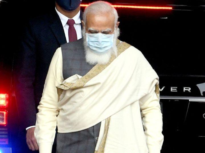 प्रधानमंत्री मोदी ने कहा कि सरकार प्रदर्शन कर रहे किसानों के मु़द्दे सुलझाने के लिए लगातार कोशिश कर रही है। - Dainik Bhaskar