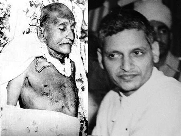 फांसी पर लटकाने से ठीक 1 दिन पहले 14-11-1949 को जेल में बैठकर गोडसे ने अपनी वसीयत लिखी थी। - Dainik Bhaskar