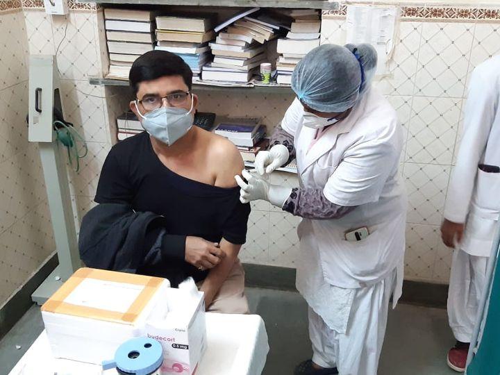 बीकानेर में कोरोना वैक्सीनेशन का प्रतिशत भी लगातार बढ़ता जा रहा है। - Dainik Bhaskar