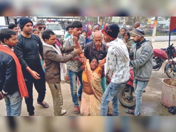 हत्या के मामले में जेल गया था आरोपी, चार साल पहले पत्नी की हुई थी मौत। - Dainik Bhaskar