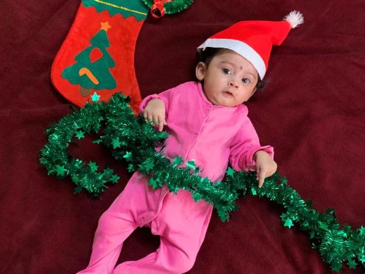 तीरा सिर्फ 5 महीने की है और 13 जनवरी से मुंबई के एक हॉस्पिटल में एडमिट है। - Dainik Bhaskar