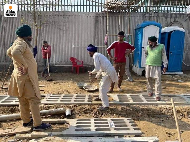दिल्ली बॉर्डर पर पिछले 78 दिन से आंदोलन कर रहे किसानों का कहना है कि तीनों कृषि कानूनों की वापसी तक वे आंदोलन खत्म नहीं करेंगे। लंबे वक्त तक रहने के लिए वे जरूरी इंतजाम भी कर रहे हैं। - Dainik Bhaskar
