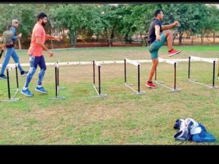 सोनीपत के साई सेंटर में खिलाड़ियांे ने तैयारी शुरू कर दी है। - Dainik Bhaskar