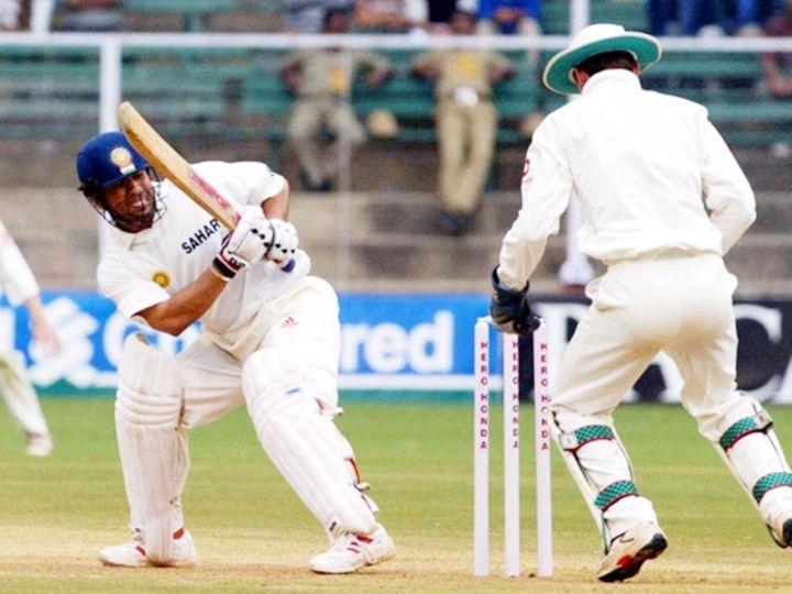 सचिन तेंदुलकर इकलौती बार 2001 में एश्ले जाइल्स की बॉल पर जेम्स फोस्टर के हाथों स्टंप कर दिए गए थे। - Dainik Bhaskar
