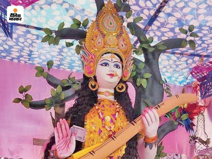 Mother Saraswati temple in Peshawar.  - Dainik Bhaskar