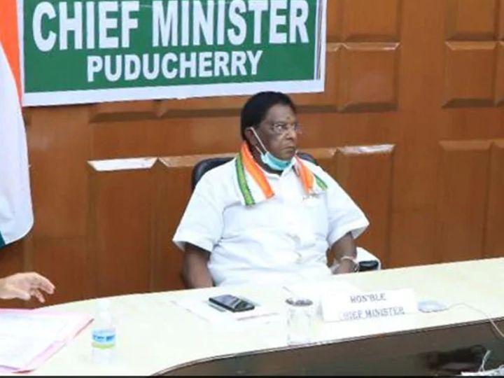 पुड्डुचेरी में मई में चुनाव होने हैं। अभी वी नारायणसामी यहां के मुख्यमंत्री हैं। - Dainik Bhaskar