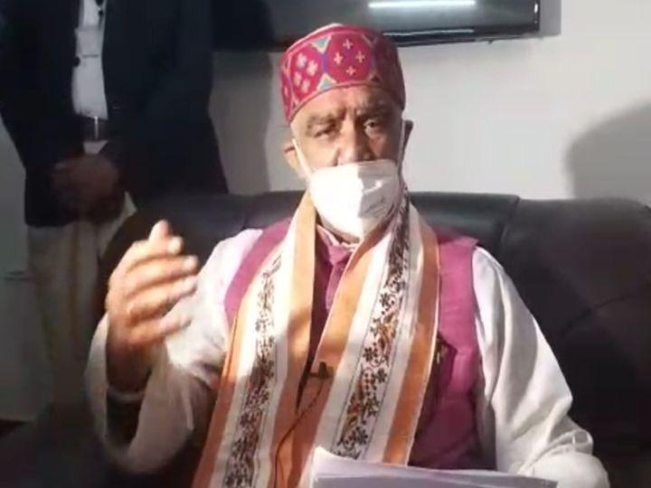केंद्रीय मंत्री अश्विनी चौबे ने महामना पंडित मदन मोहन मालवीयकैंसर सेंटर में आपरेशन थियेटर परिसर का भी उद्घाटनकिये। - Dainik Bhaskar