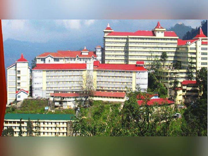 हिमाचल प्रदेश के शिमला स्थित इंदिरा गांधी मेडिकल काॅलेज अस्पताल। -फाइल फोटो - Dainik Bhaskar