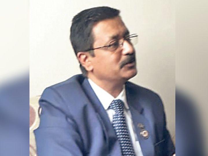 प्रमोद कुमार बूब, आईसीएआई के सेंट्रल काउंसिल मेंबर। - Dainik Bhaskar
