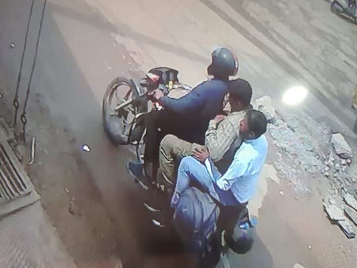 The picture is of Raipur.  The police suspect that these thugs may have caught many more people.  The police has appealed to the people not to be misled.  - Dainik Bhaskar
