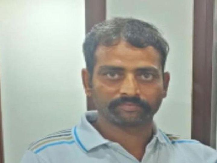 मृतक नवीन कुमार उर्फ भोला ड्राइवर है। मरने से पहले उसने एक वीडियो भी बनाया था, इसमें वो अपनी पत्नी पर आरोप लगा रहा है। - Dainik Bhaskar