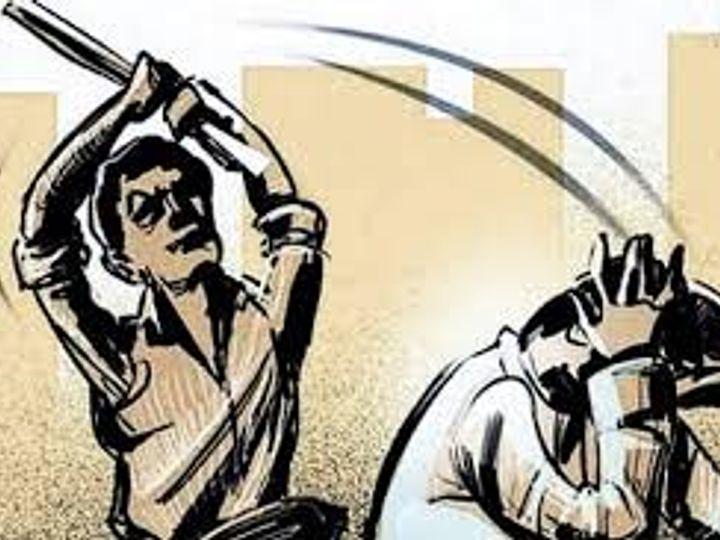 पुलिस आसपास के इलाकों में पूछताछ कर आरोपियों की पहचान की कोशिश कर रही है। - प्रतीकात्मक फोटो - Dainik Bhaskar