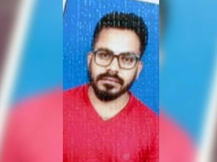 मृतक की पहचान अक्षय कुमार (26) के रूप में की गई। - Dainik Bhaskar