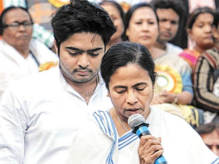 कोयला घोटाले में TMC के नेताओं पर आरोप लगे हैं। इसमें मुख्यमंत्री ममता बनर्जी के भतीजे और TMC नेता अभिषेक बनर्जी का नाम भी शामिल है। - Dainik Bhaskar