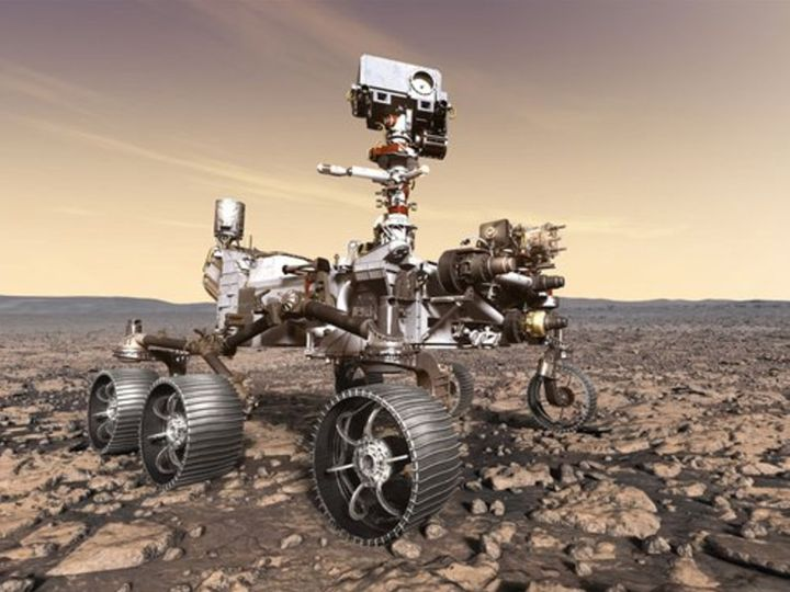 NASA's Perceived Rover reached Mars last week.  Audio and video of its landing have been revealed.  - Dainik Bhaskar