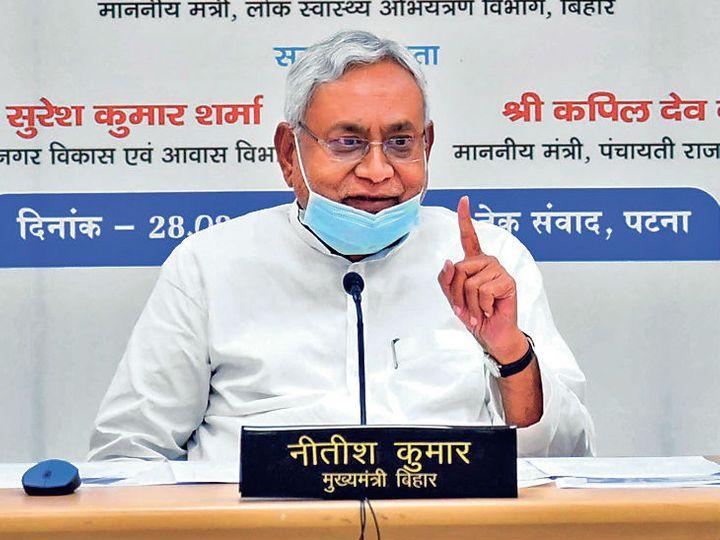 नीतीश कुमार (फाइळ फोटो) - Dainik Bhaskar