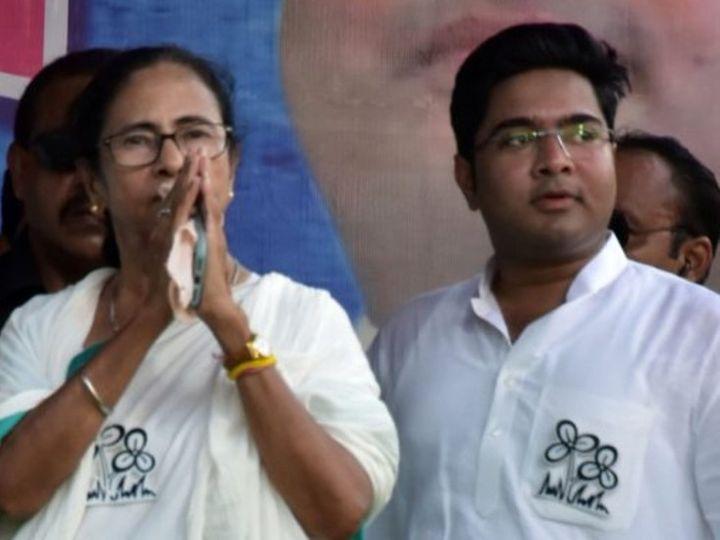 सोमवार को CBI ने ममता बनर्जी के भतीजे अभिषेक की साली से भी पूछताछ की। (फाइल फोटो) - Dainik Bhaskar