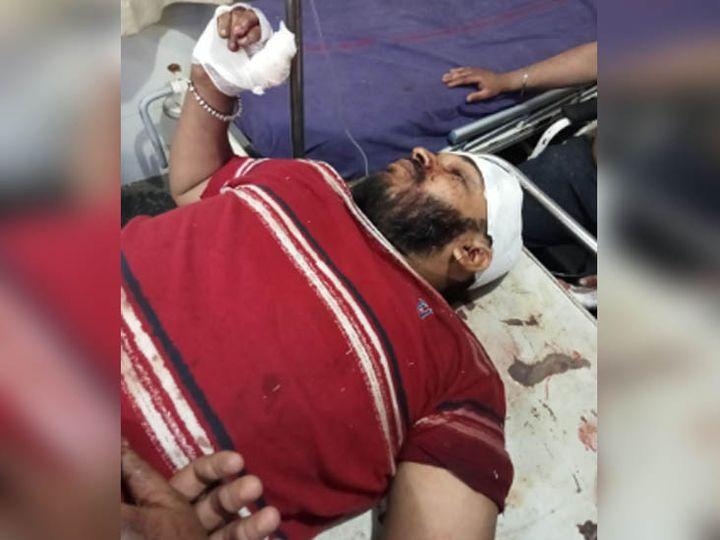 चचेरे भाई भाग निकले। लेकिन अंकित को राजेश और उसके साथियों ने घेर लिया। - Dainik Bhaskar