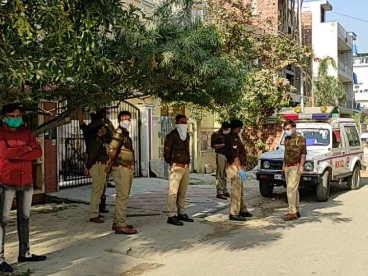 पुलिस ने महिला के शव उसके घर से रिकवर किया। - Dainik Bhaskar