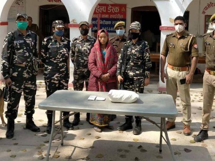 पुलिस ने आरोपी तस्कर को जेल भेज दिया है। - Dainik Bhaskar