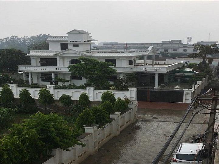 पानीपत में सुबह बादल छाने के बाद बारिश हुई। - Dainik Bhaskar