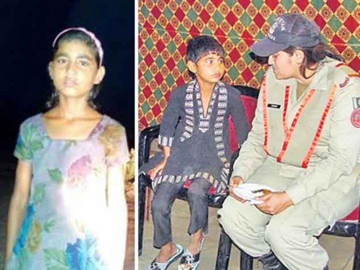 रस्ता चुकून पाकिस्तानच्या हद्दीत गेलेली पुजा. पाकिस्तानच्या महिला अधिकारीने पाच दिवस पुजाचा सांभाळ केला. - Divya Marathi