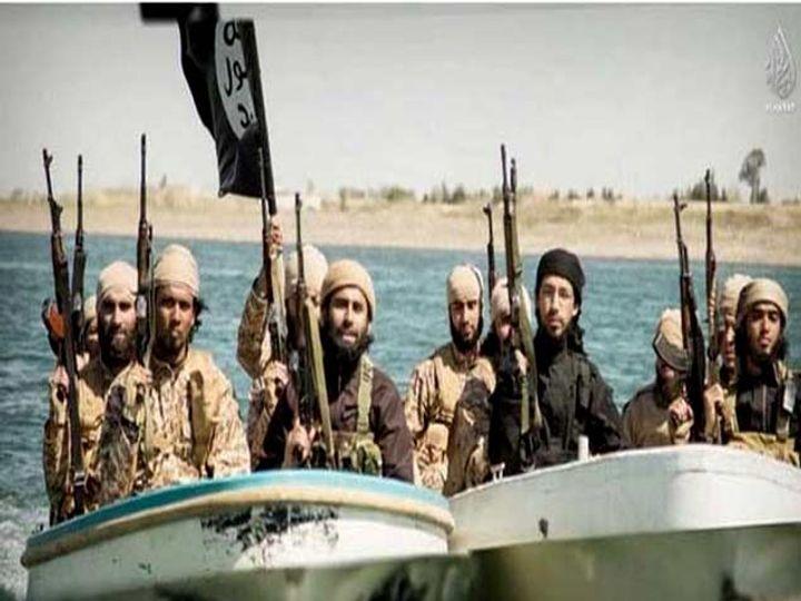 ISIS च्या एका समर्थकाने सोशल साइटवर पोस्ट केले फोटो. - Divya Marathi