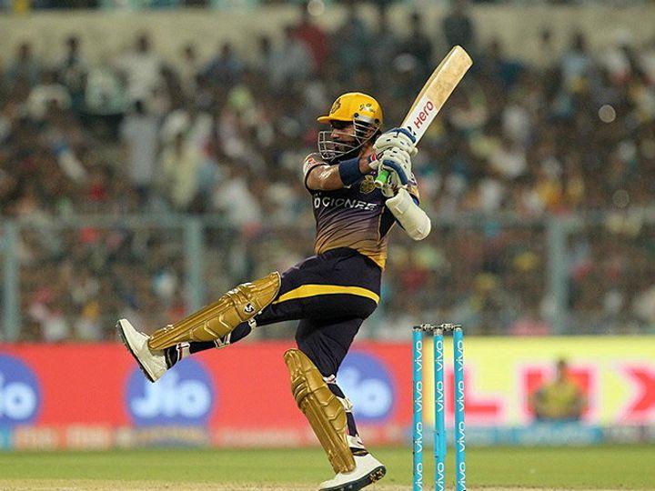 रॉबिन उथप्पाने ३३ चेंडूत ५९ धावा केल्या. - Divya Marathi