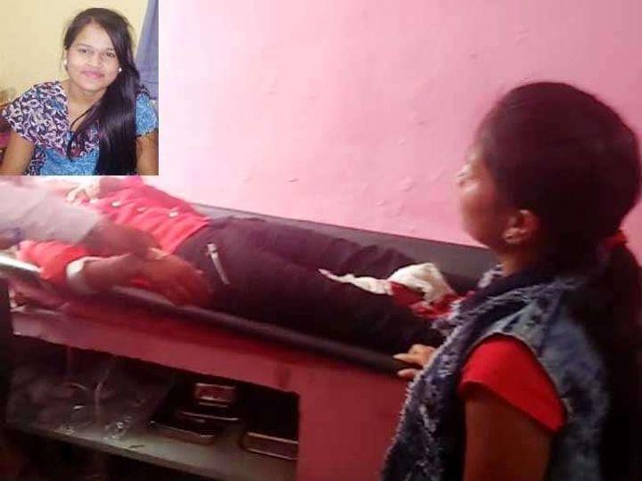 अन्नूच्या लहान बहिणीच्या डोळ्यादेखत ही घटना घडली. - Divya Marathi