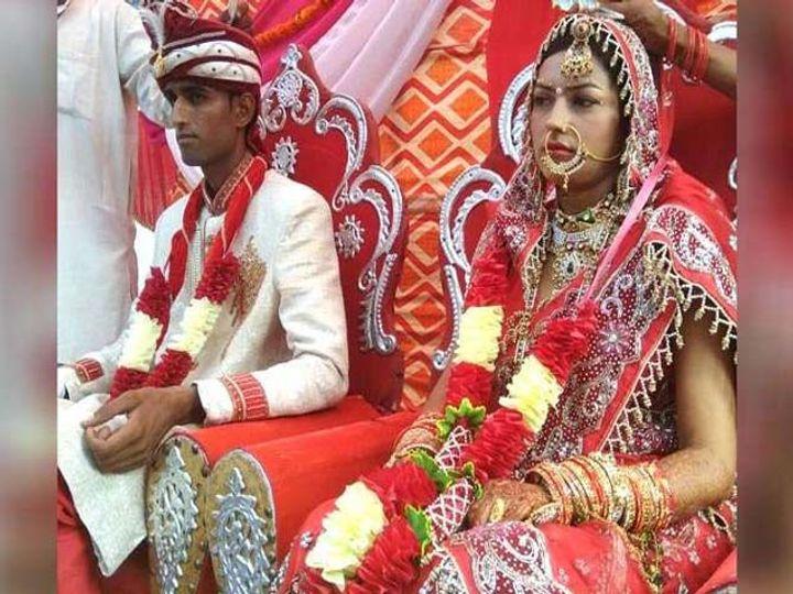 अंकित आणि निधीचे 3 महिन्यांपूर्वीच लग्न झाले होते. - Divya Marathi