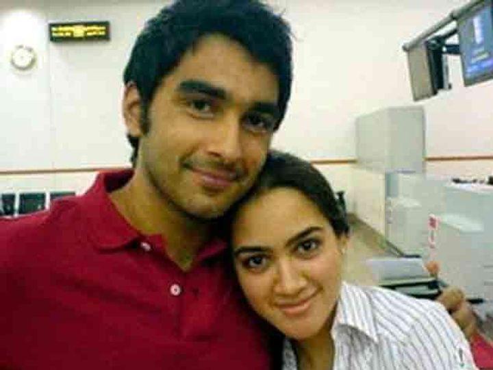 दाऊदच्या मुली आणि मुलगा मोईन - Divya Marathi