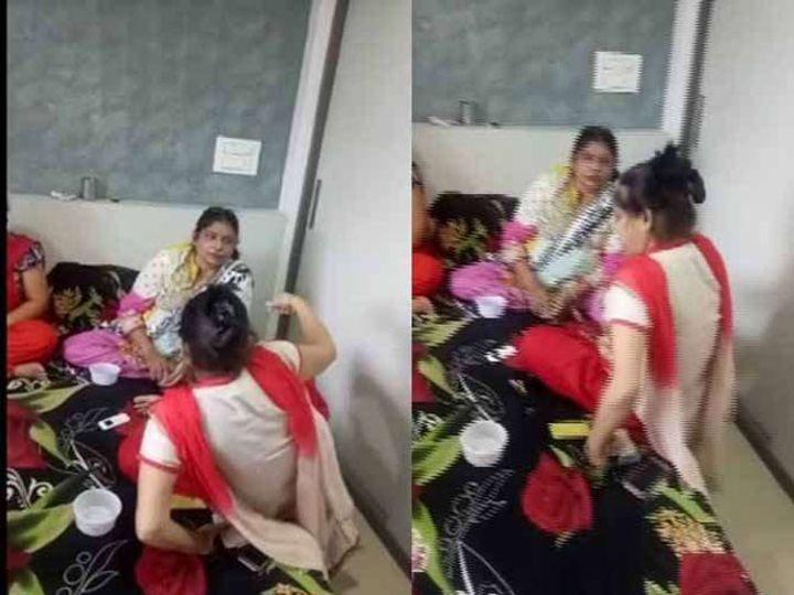 पोलिसांनी 6 महिलांना एका फ्लॅटमधून जुगार खेळताना रंगेहाथ अटक केली. - Divya Marathi