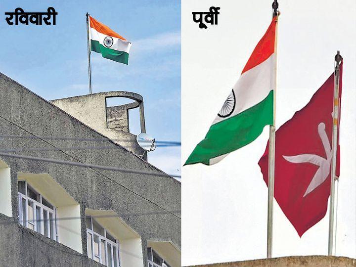 काश्मीर सचिवालयावर फक्त तिरंगा - Divya Marathi